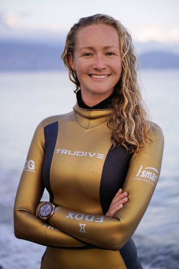 Edox Appoints Marianna Gillespie as its Water Champion Ambassador