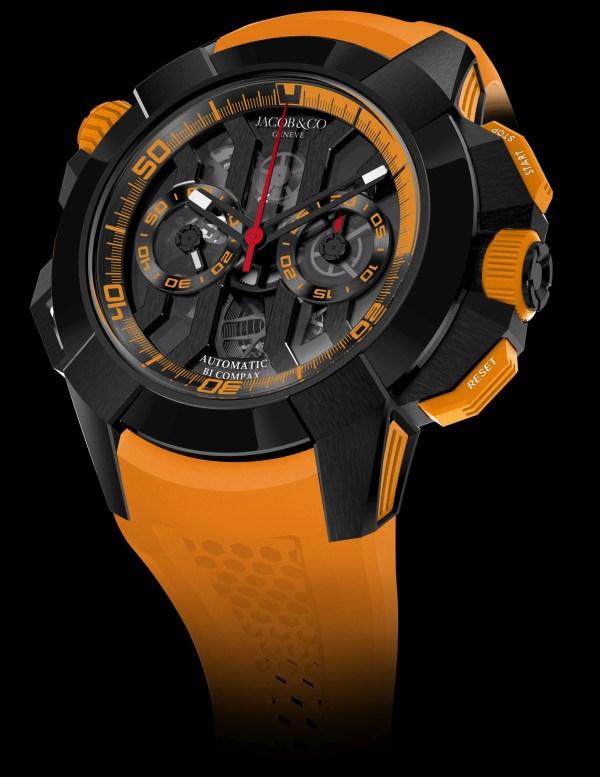 Jacob & Co. Epic X Chrono Black Titanium Orange, Unique Piece for Only Watch 2021