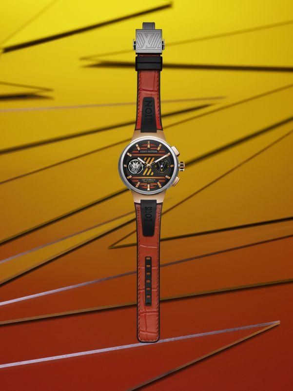 Louis Vuitton Tambour Curve GMT Flying Tourbillon Only Watch 2021