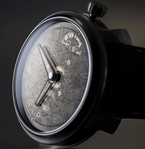 MING 20.11 Mosaic watch with sapphire dial