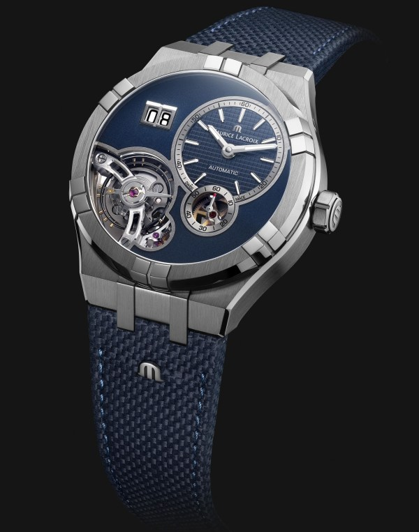 Maurice Lacroix Aikon Master Grand Date automatic watch, watches and wonders 2021