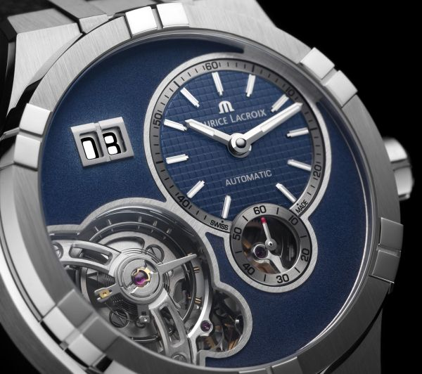 Maurice Lacroix Aikon Master Grand Date automatic watch dial view