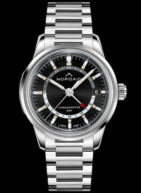 NORQAIN GMT Steel watch