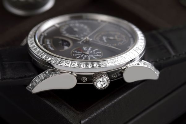 Parmigiani Fleurier Tonda Hijri Perpetual Calendar Diamonds