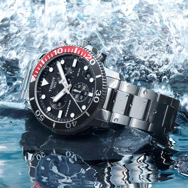 Tissot Seastar 1000 Quartz Chrono Aquatic Elegance