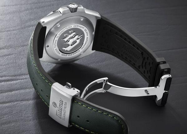 Tutima Glashütte M2 Seven Seas S watch case back