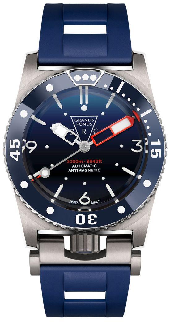ZRC GRANDS FONDS 3000 meters diving watch