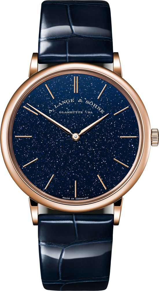 A. Lange & Söhne SAXONIA THIN Pink Gold Limited Edition