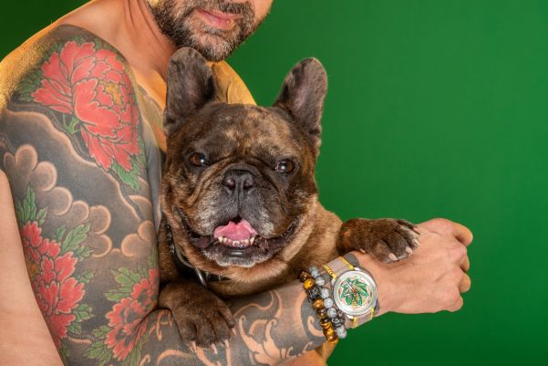 """BOMBERG """"BB01 Automatic Cure the BullDog"""" Limited Edition"""