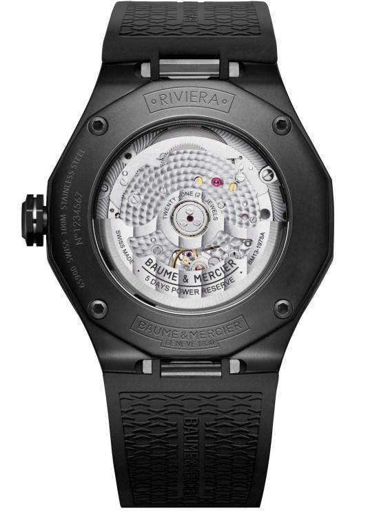 Baume & Mercier BAUMATIC Riviera Automatic 42mm Reference 10617 watch movement