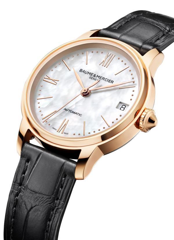 Baume & Mercier Classima 18K Pink Gold Titanium Automatic watch