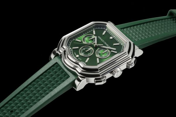 Gerald Charles Maestro GC3.0-A Chronograph with emerald green dial