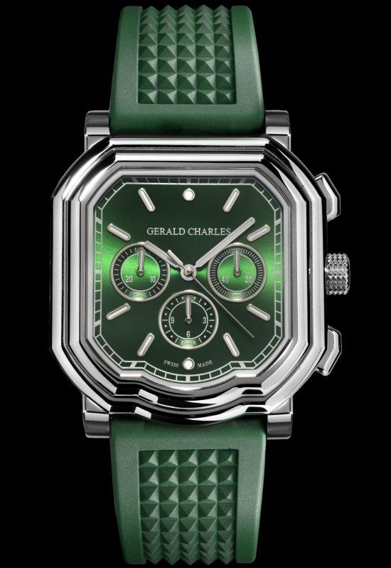Gerald Charles Maestro GC3.0-A Chronograph with green dial