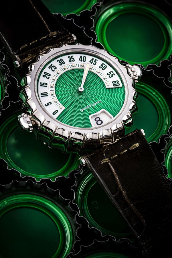 Gérald Genta Minute Repeater with Jumping Hour and Retrograde Minutes