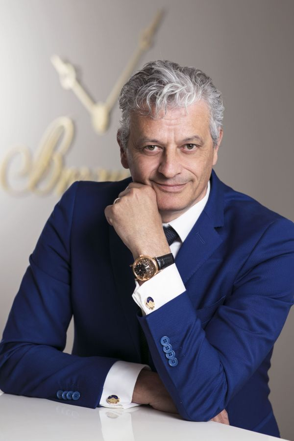 Lionel a Marca, CEO of Montres Breguet SA