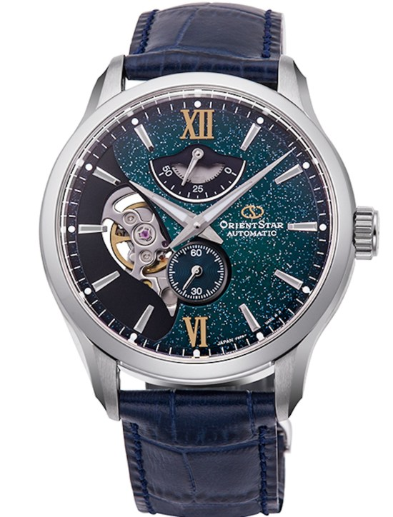 ORIENT STAR Layered Skeleton (new models with textile patterned dial) limited edition