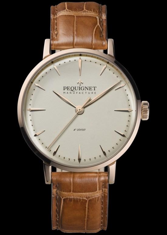 Pequignet Attitude Gold Limited Edition watch