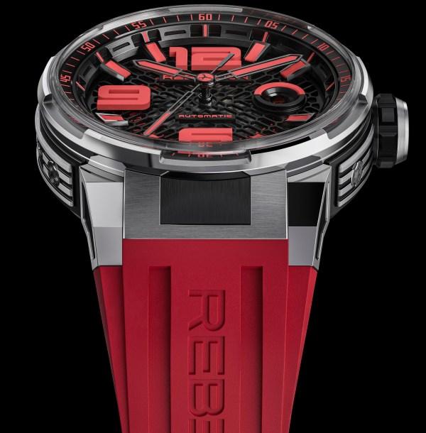 REBELLION PREDATOR 2.0 3 HANDS titanium red