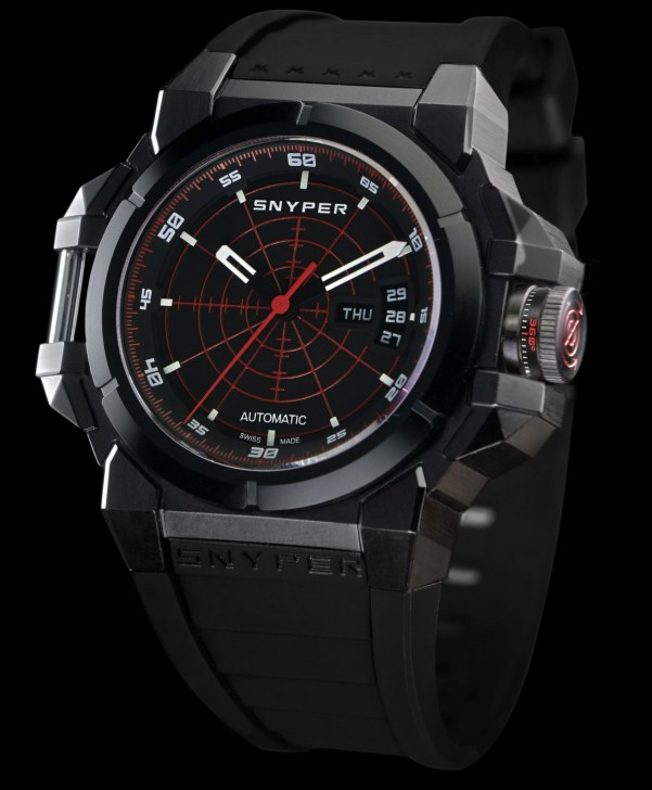 Snyper Two – Black PVD Red Target, Reference: 20.256.00