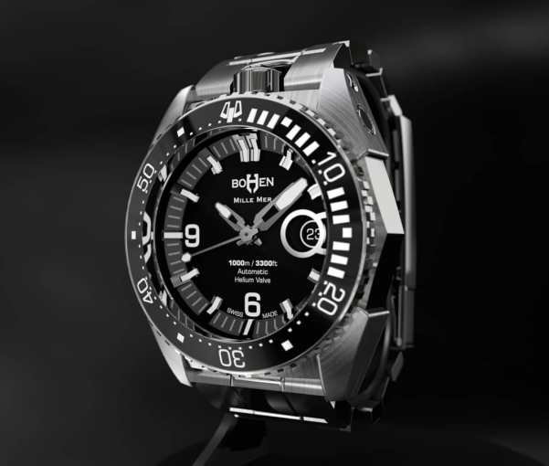 BOHEN MILLE-MER automatic swiss diving watch