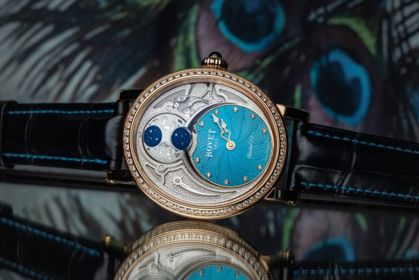 BOVET 1822 Récital 23 with a Turquoise Guilloché Dial