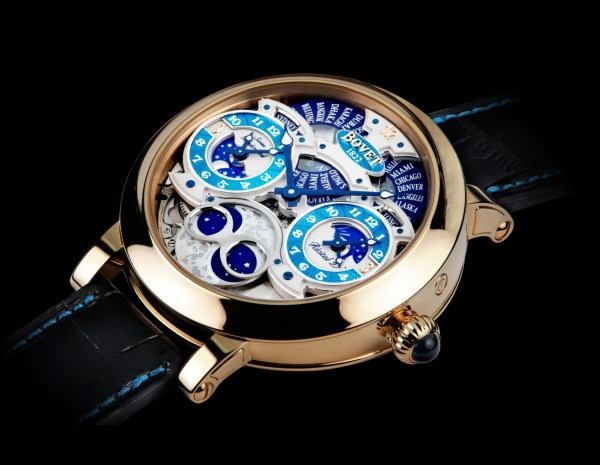 BOVET 1822 Récital 27 with a Turquoise Guilloché Dial