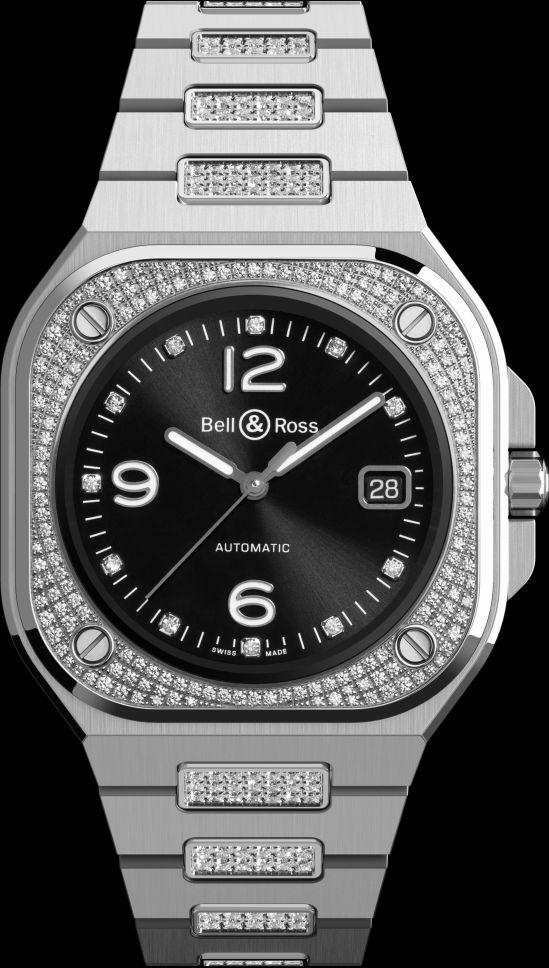 Bell & Ross BR 05 DIAMOND with diamond set bracelet