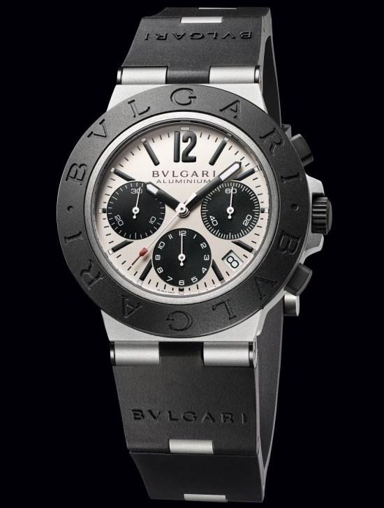 Bvlgari Aluminium Chronograph, reference 103383