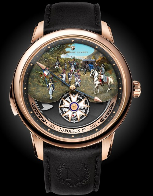 Christophe Claret Napoleon Red Gold watch