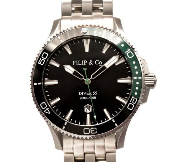 Filip & Co DIVER 55  automatic watch
