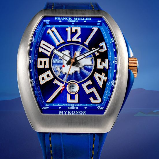 Franck Muller Mykonos Limited Edition watch titanium
