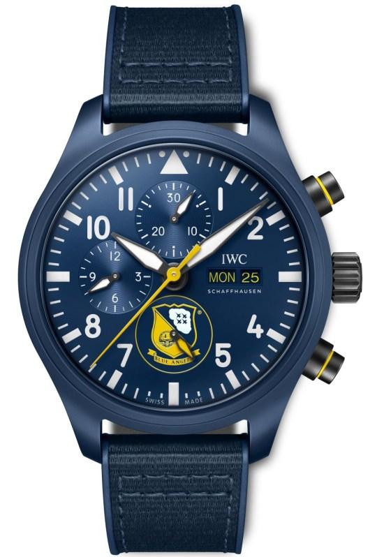 "IWC Schaffhausen Pilot's Watch Chronograph Edition ""Blue Angels®"", Ref. IW389109"