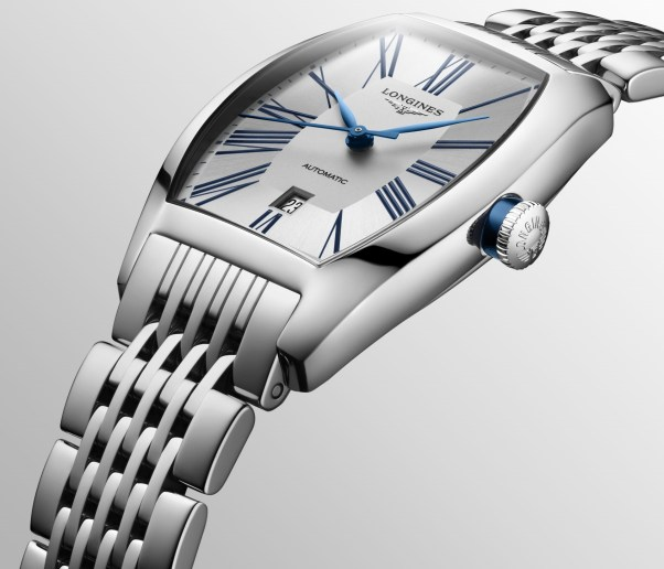 Longines evidenza Automatic New Models with Sea Green and Silver Dials