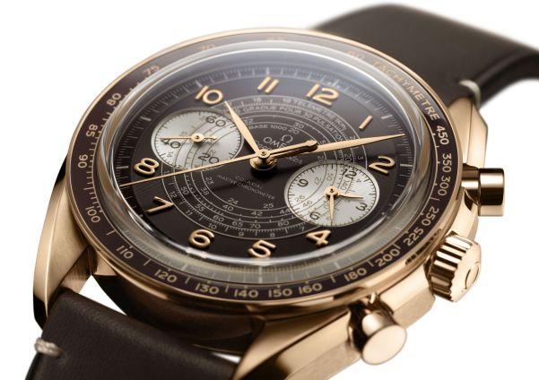 OMEGA Speedmaster Chronoscope bronze gold