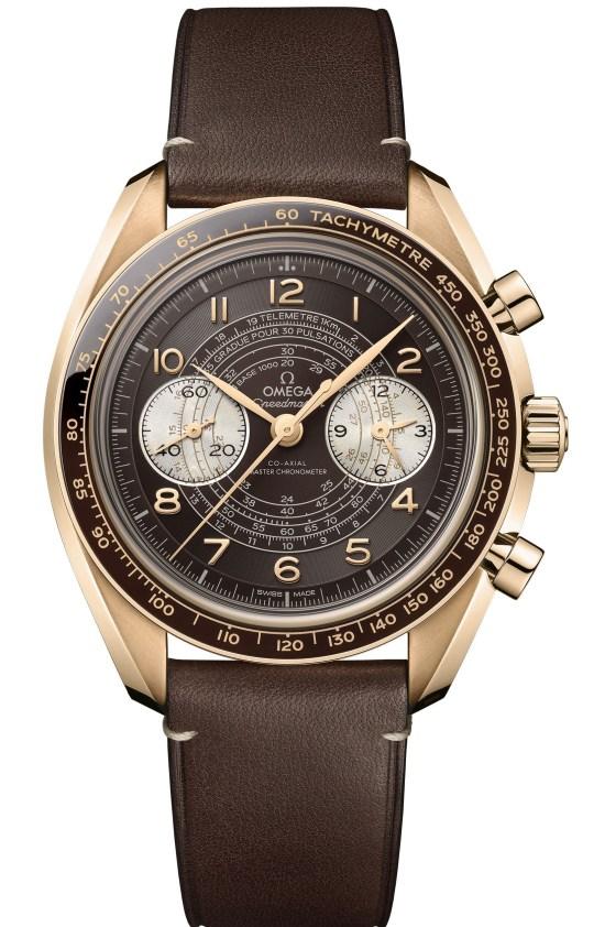 OMEGA Speedmaster Chronoscope bronze gold 1