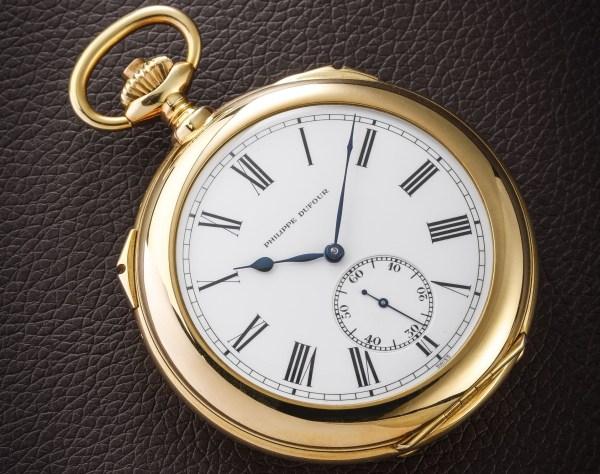 Philippe Dufour Grande & Petite Sonnerie Pocket Watch Number 1, Unique Piece