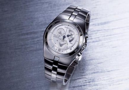 Seiko Arctura Kinetic Chronograph (with calibre 7L22), Reference SNL001P