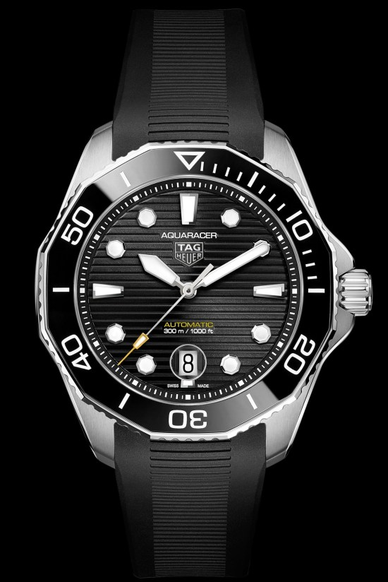 TAG Heuer Aquaracer Professional 300 Calibre 5 Automatic black dial Reference WBP201A.FT6197