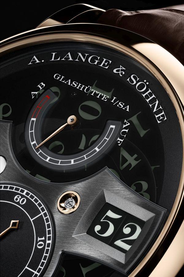 """A. Lange & Söhne ZEITWERK HONEYGOLD """"Lumen"""" Limited Edition"""