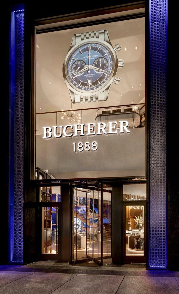 Carl F. Bucherer Boutique in Bucherer 1888 TimeMachine