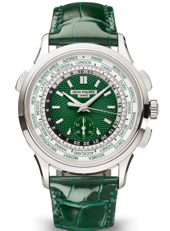 Patek Philippe Self-winding World Time Flyback Chronograph Reference 5930P-001