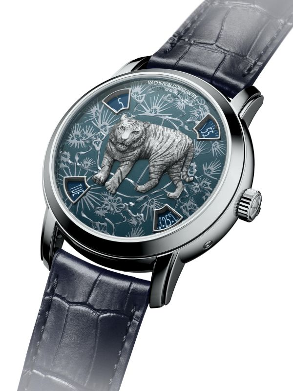 """Vacheron Constantin Métiers d'Art """"The legend of the Chinese zodiac"""" Year of the Tiger Limited Edition"""