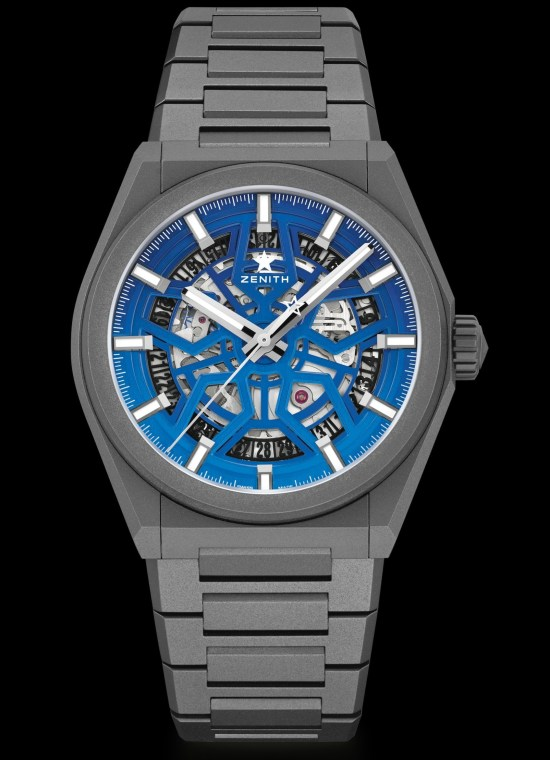 """Zenith X Time+Tide Defy Classic Skeleton """"Night Surfer"""" Limited Edition"""