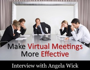Make virtual meetings more effective