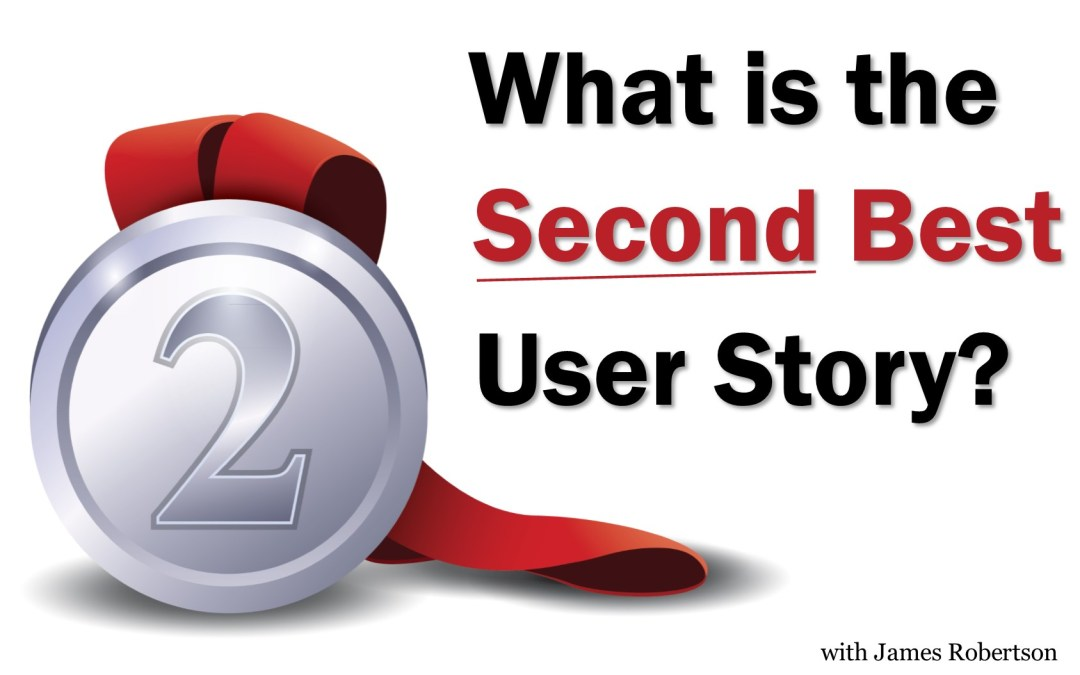 MBA041: What's the Second Best User Story?