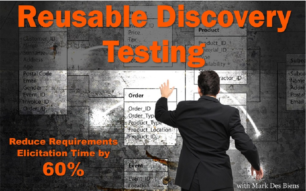 MBA058: Reusable Discovery Testing