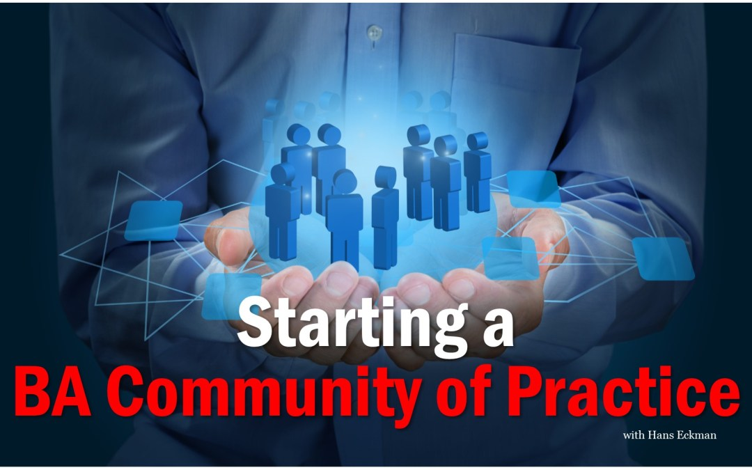 MBA066: Starting a BA Community of Practice