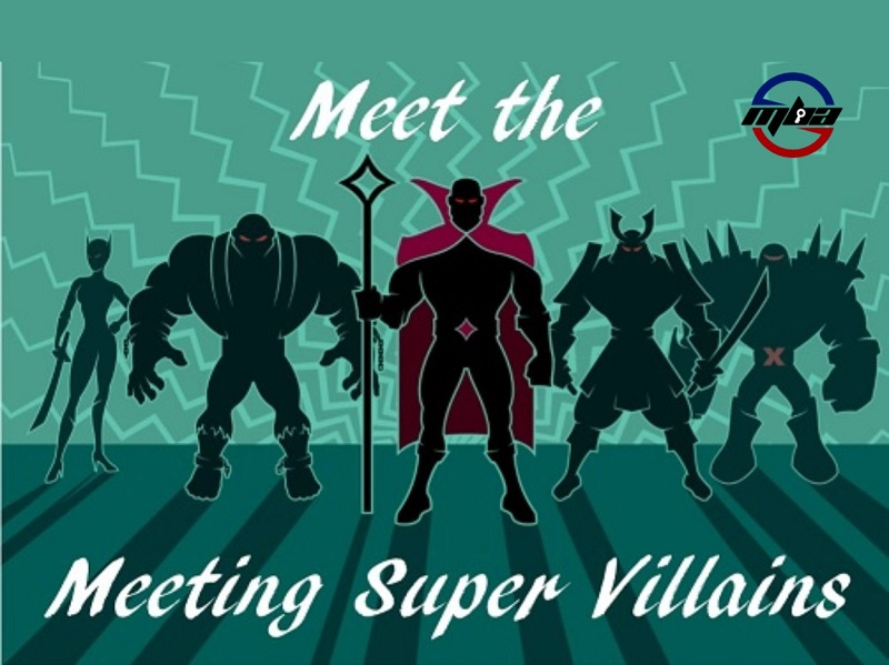 Defeat the Meeting Super Villains
