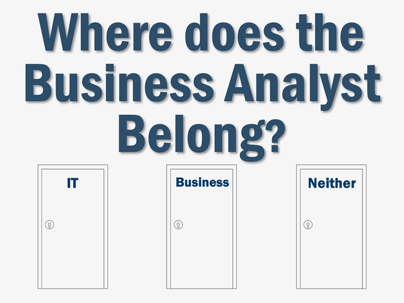 MBA128: Where Should the Business Analyst Reside?