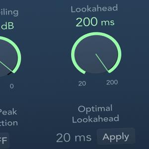 Adaptive Limiter 10.2.2 Lookahead